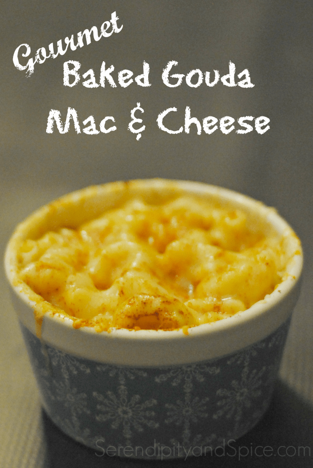 Gourmet Baked Gouda Mac & Cheese Recipe