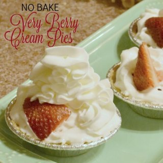 VERY BERRY CREAM PIES RECIPE