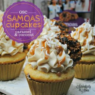 Girl Scout Samoas Cupcakes Recipe