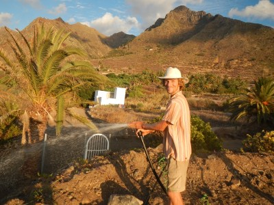 Michael Pierre Gasber, Permaculture, Community Tenerife, Serene Light Gardens