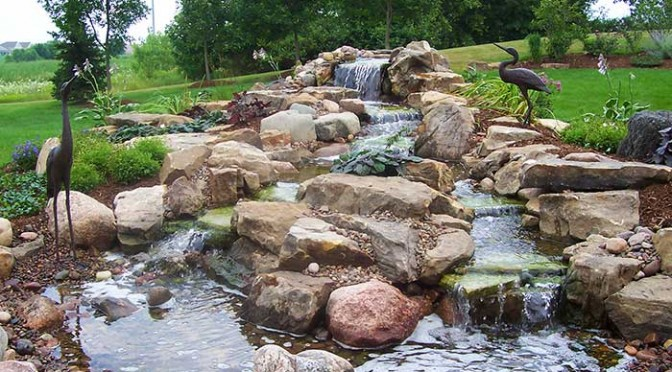 Pathway Lighting Design Ideas Water Features | Serenescapes