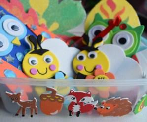 Having Fun with Baker Ross Autumn & Halloween Crafts