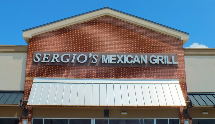 Sergios Mexican Grill - Front