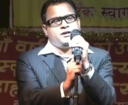 Popular Nepali comedian Jitu Nepal and Singer Komal Oli
