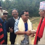 Mundre visits Meri Bassai village, meets Dhurmus and others