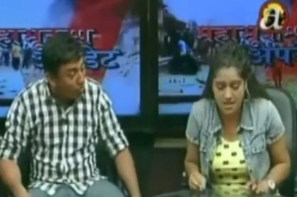 Interview of comedians Dhurmus and Suntali after EQ