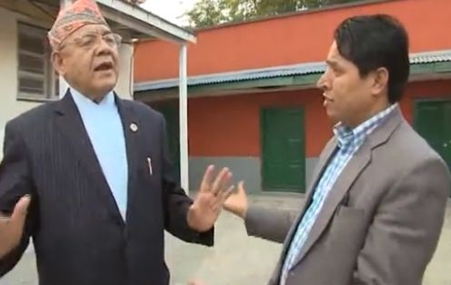 Rishi Dhamala interview of Bamdev Gautam
