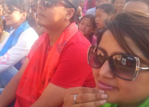 Jitu Nepal Comedy at an Earthquake Victim Camp