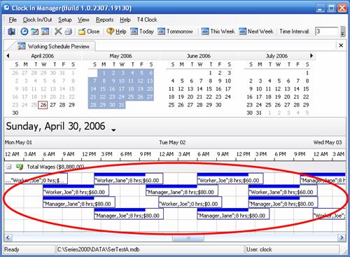 Working Schedule Preview - shift workers schedule