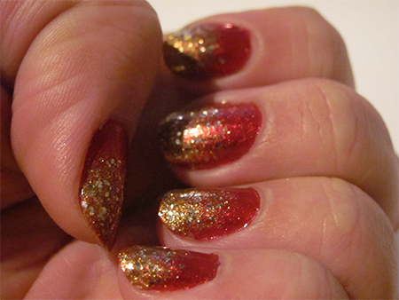 My Christmas Nails Free Tutorial With Pictures On How To