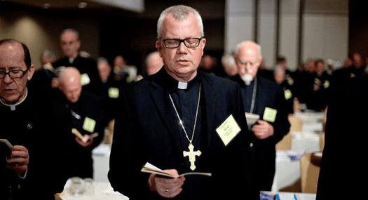 The U.S. Conference of Catholic Bishops maintains that the only acceptable, fool-proof form of contraception is their Drew Carey glasses.