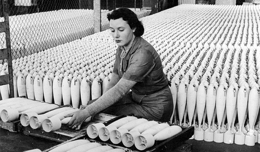 "The most productive factory workers were able to lay hundreds of these ""democracy eggs"" a day."