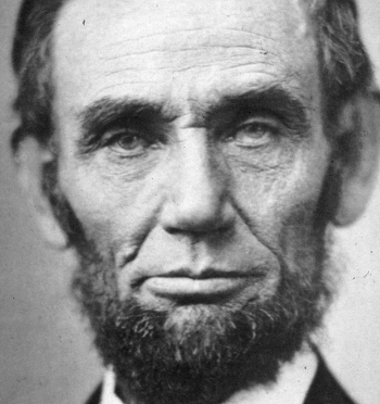 This explains why Abraham Lincoln was slaying it up and down Pennsylvania Ave.