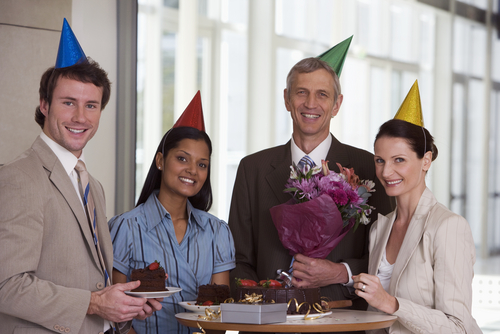 "They're smiling because now the company doesn't have to pay every time they reluctantly drone out the words to ""Happy Birthday To You."""