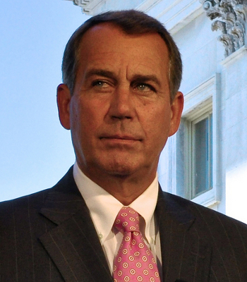 House Speaker John Boehner said he has no plans to alter his bright orange color.