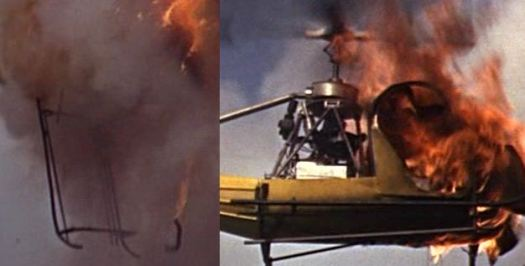 And his drunkest day? When he shot this helicopter down with a rifle in From Russia with Love, most likely by accident.