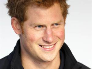 Prince Harry is watching you poop.