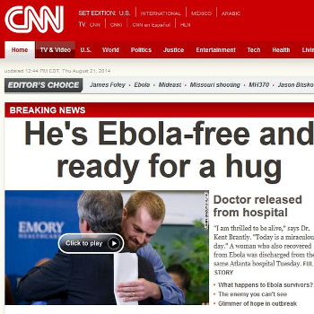 CNN's new dating service is very exclusive.
