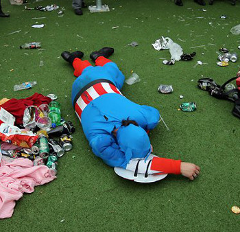 Captain America represents the best drinker in all of us.