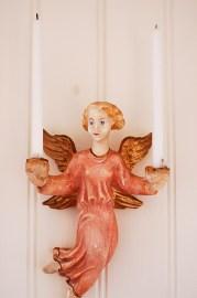 Eve ängel i gips
