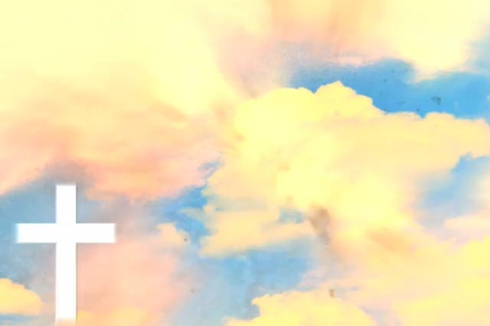 Fondo Nubes Doradas VPG SermonSpice - fondo nubes
