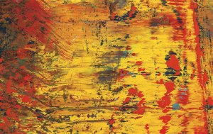 Gerhard Richter Abstract Painting (613-3) (detail) 1986. Oil on canvas 260.7 x 203 cm. Collection of Preston H. Haskell, Class of 1960