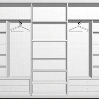 Distribuir un armario a medida reformas y decoraci n de - Distribucion armario infantil ...