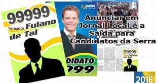 Candidatos liberados para divulgar em Jornal Impresso