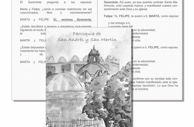 Misal acuarela Parroquia San Andrés y San Martín