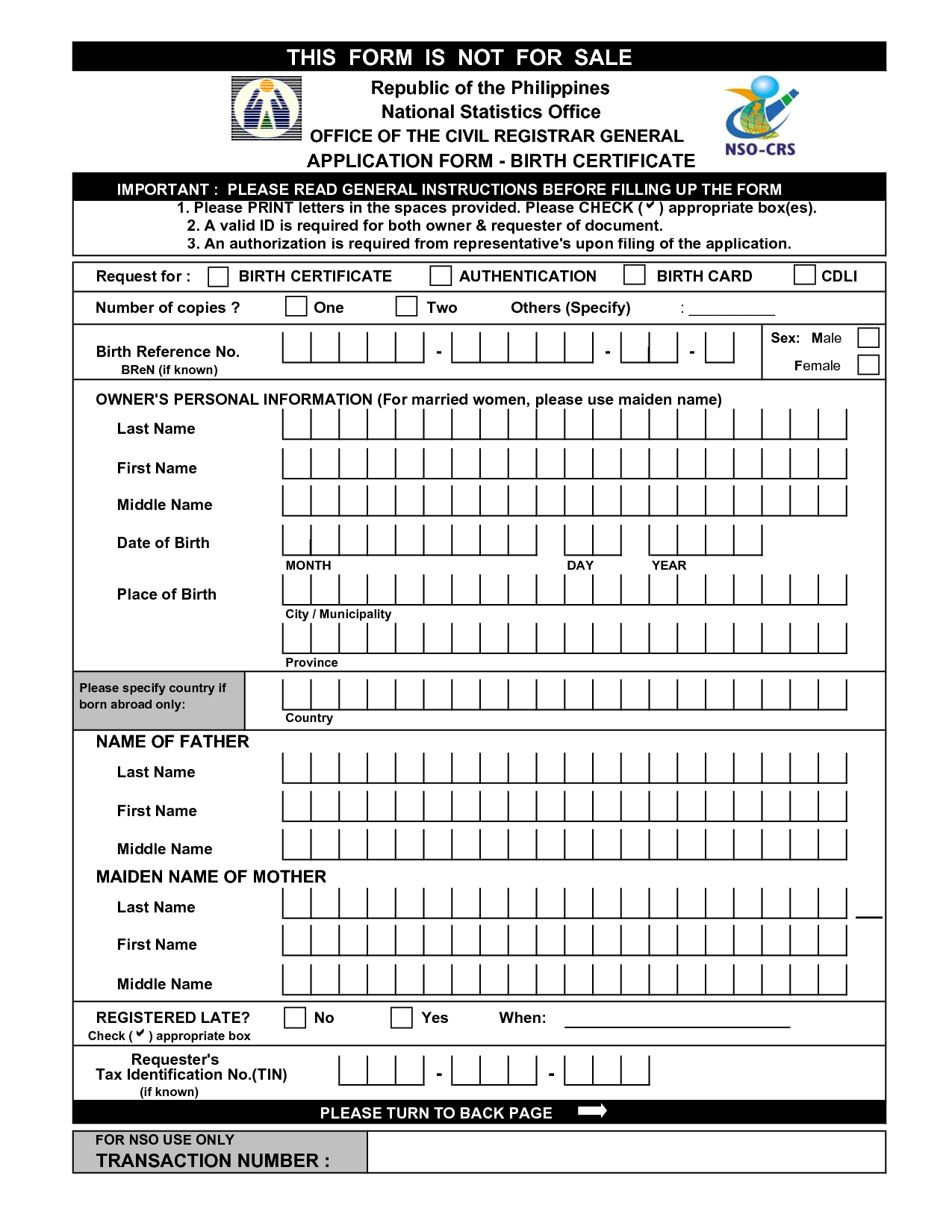 Application Letter Format Birth Certificate Free Templates For Word