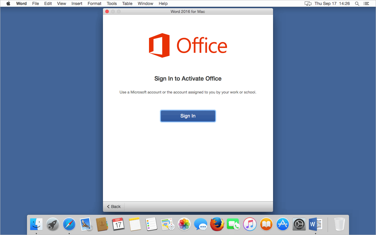Office For Mac 2016 Mac Os X Office 365 With The New Office 2016 Suite