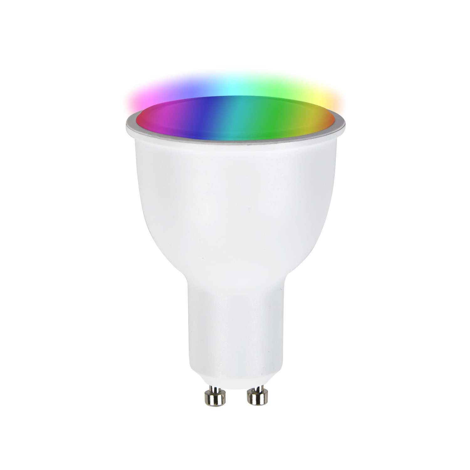 Hue Fitting Electriq Smart Dimmable Colour Wifi Bulb With Gu10 Spotlight Fitting Alexa Google Home Compatible