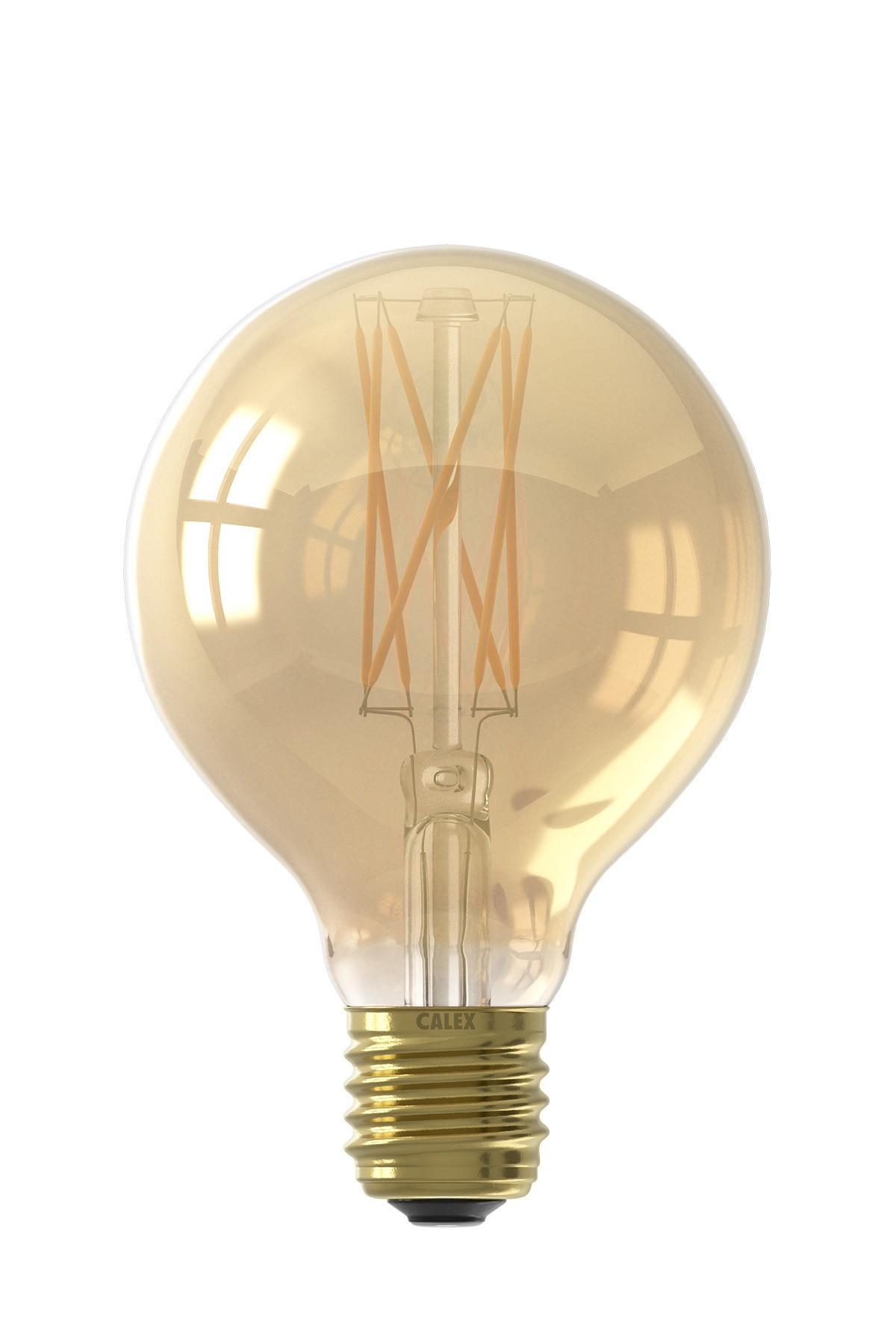 Calex Goldline Filament Led Dimmable Globe Lamps 240v 4 0w Calex