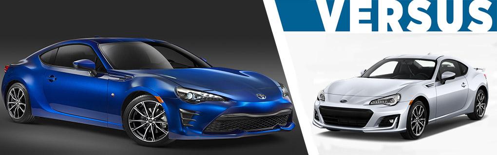 2017 Toyota 86 vs 2017 Subaru BRZ