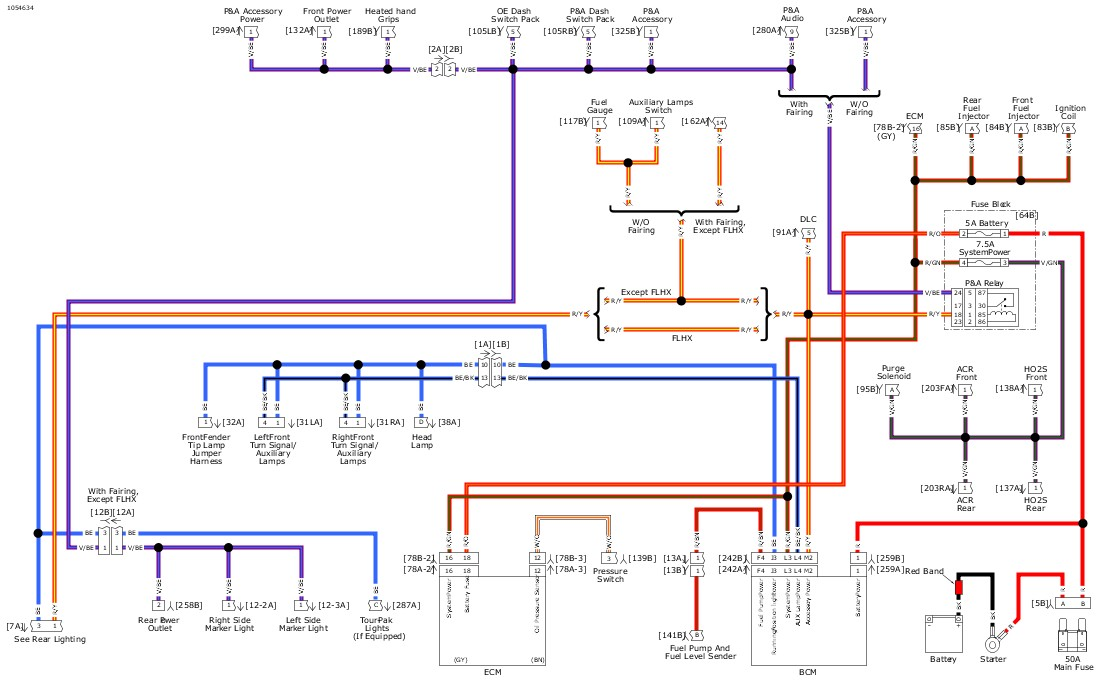 94000510_1089444_en_US - 2018 Wiring Diagram Wall Chart Harley