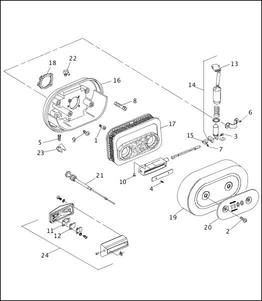 95 883 hugger wiring diagram