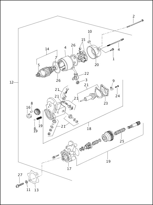 harley davidson 1200 engine diagram