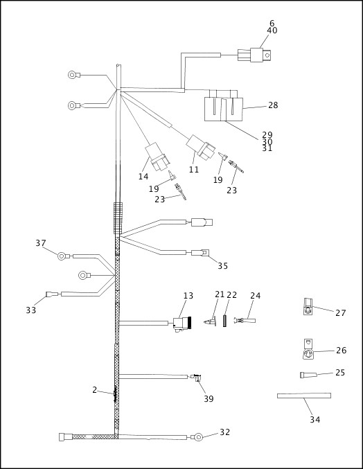 95 883 hugger wiring diagram