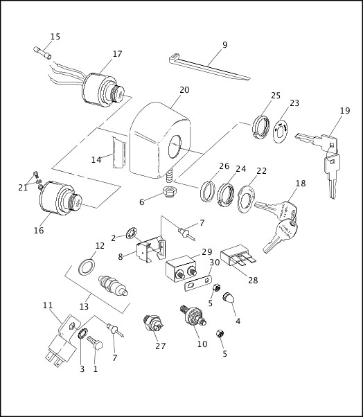 99451-94A_486238_en_US - 1993-1994 XLH Sportster Models Parts