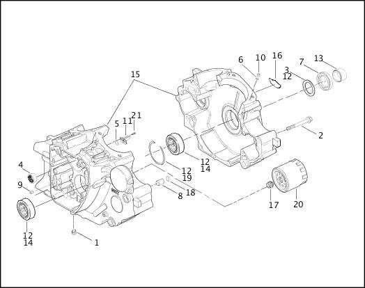 99455-03B_486256_en_US - 2003 Softail Models Parts Catalog Harley