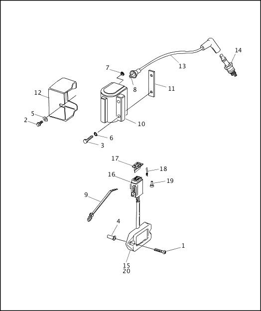 chopper dyna coils wiring schematic