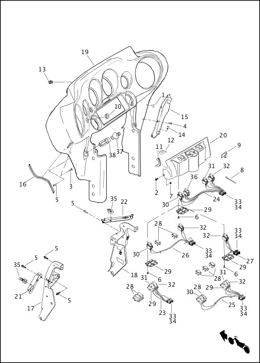 basic race car chassis wiring schematic