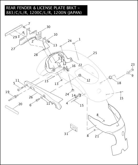 battery wire diagram 2011 flstc
