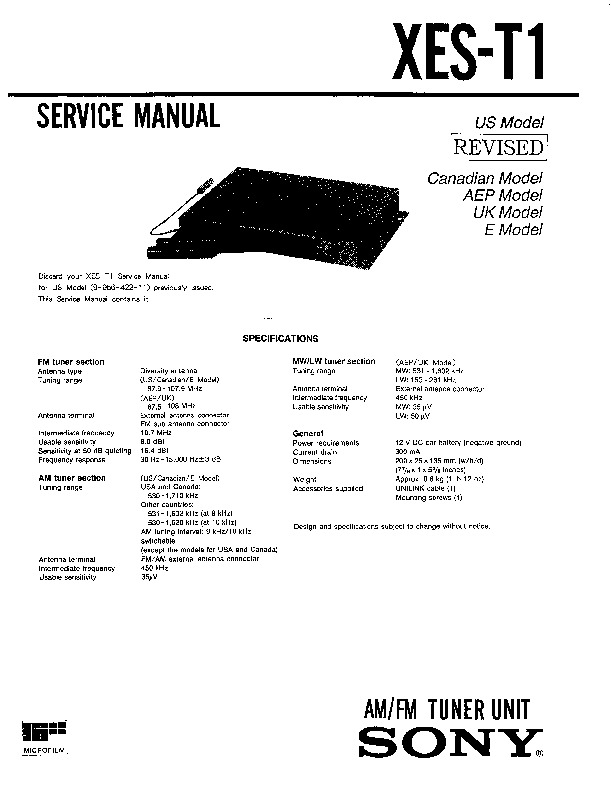 sony car audio manual