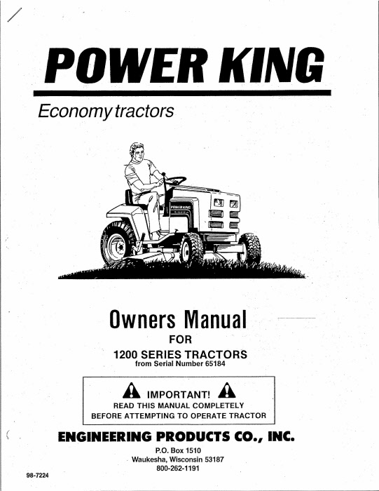 power king 1620 tractor wiring diagram
