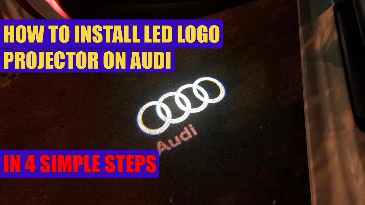 Led Verlichting Audi Logo Tuning Styling Verlichting Onder Chassis Audi Quattro Logo Led
