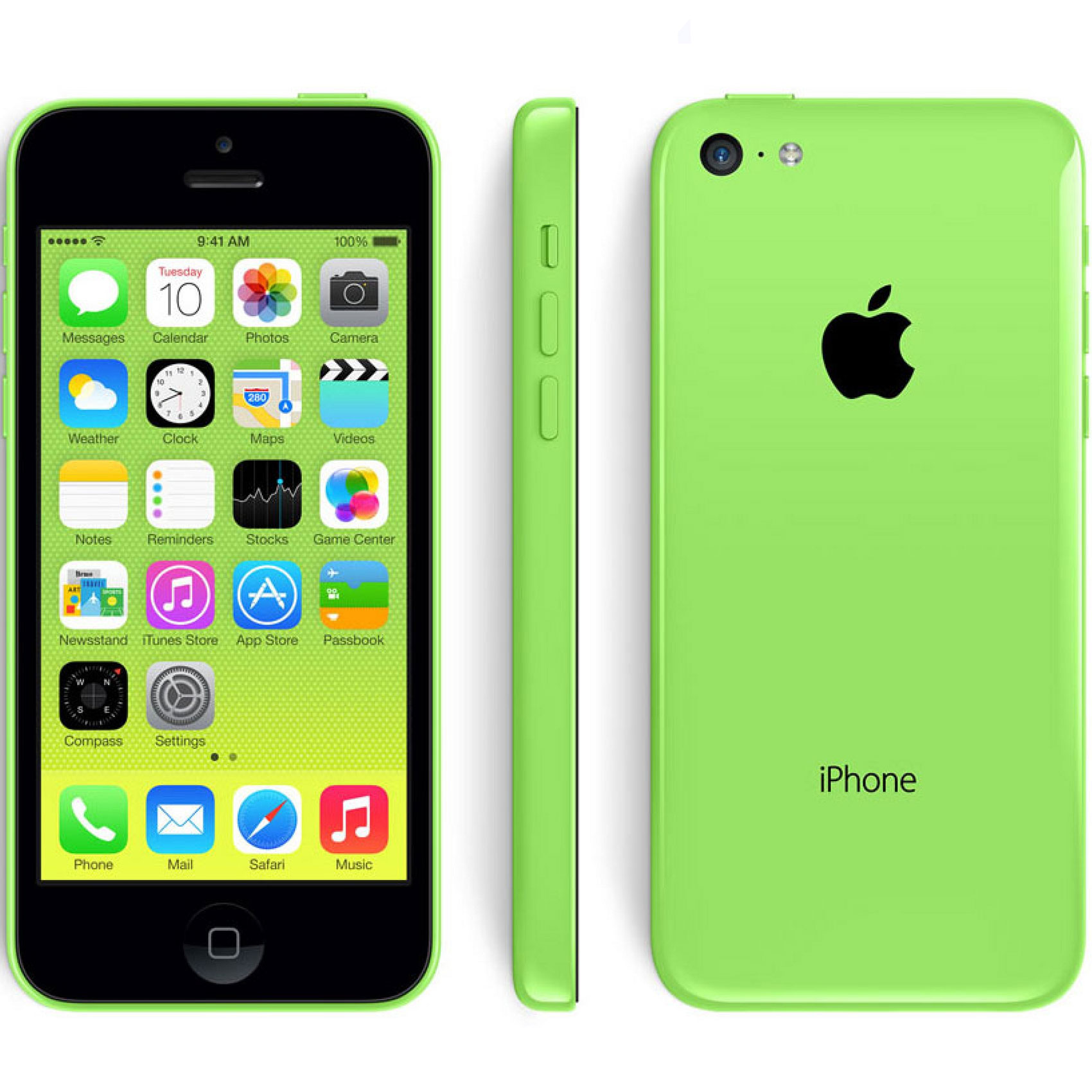 Venta De Moviles Libres Iphone Moviles Libres Apple Iphone 5c 8gb Verde