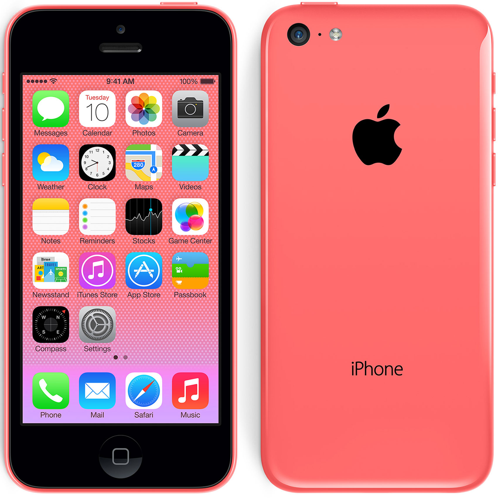 Venta De Moviles Libres Iphone Moviles Libres Apple Iphone 5c 8gb Rojo