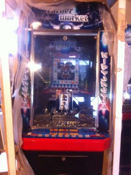 Achat Maisons Pousse Piece , Cascade, Coin Pusher Automate - Juke Box