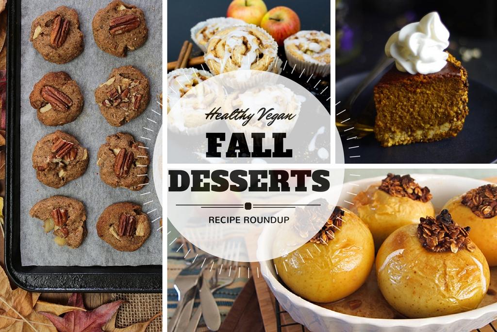 11 Delicious & Healthy Vegan Fall Dessert Recipes